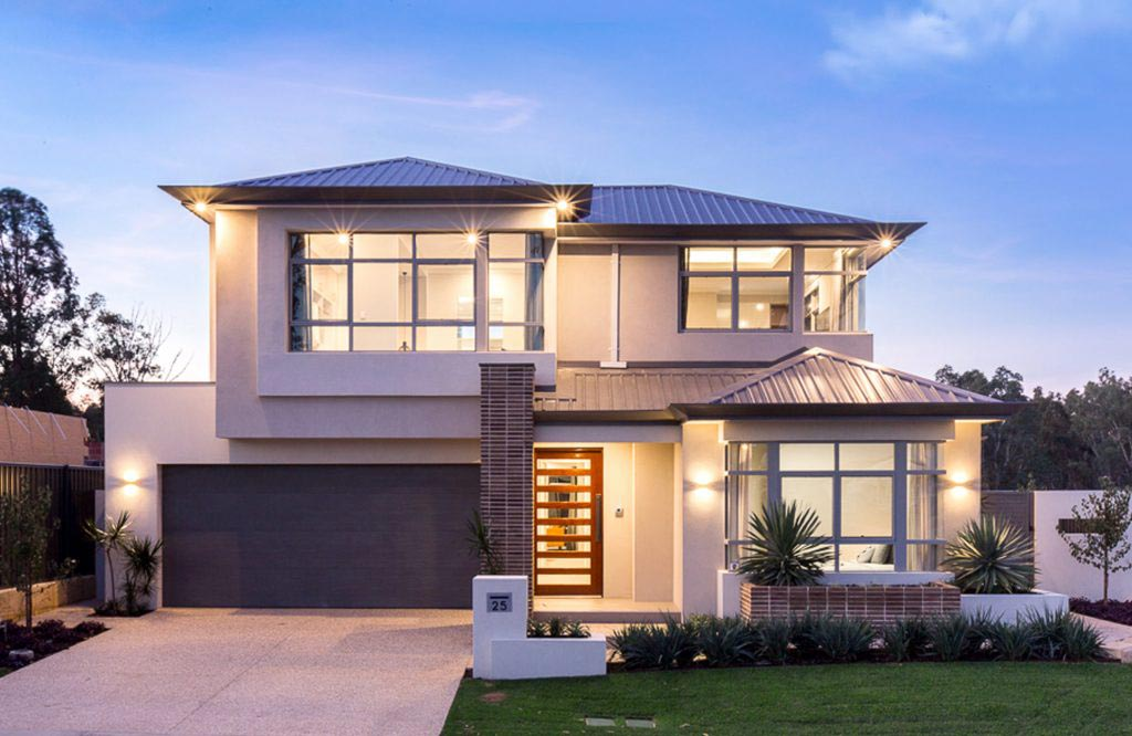 Two storey display homes perth wa 101 residential for Cascade house