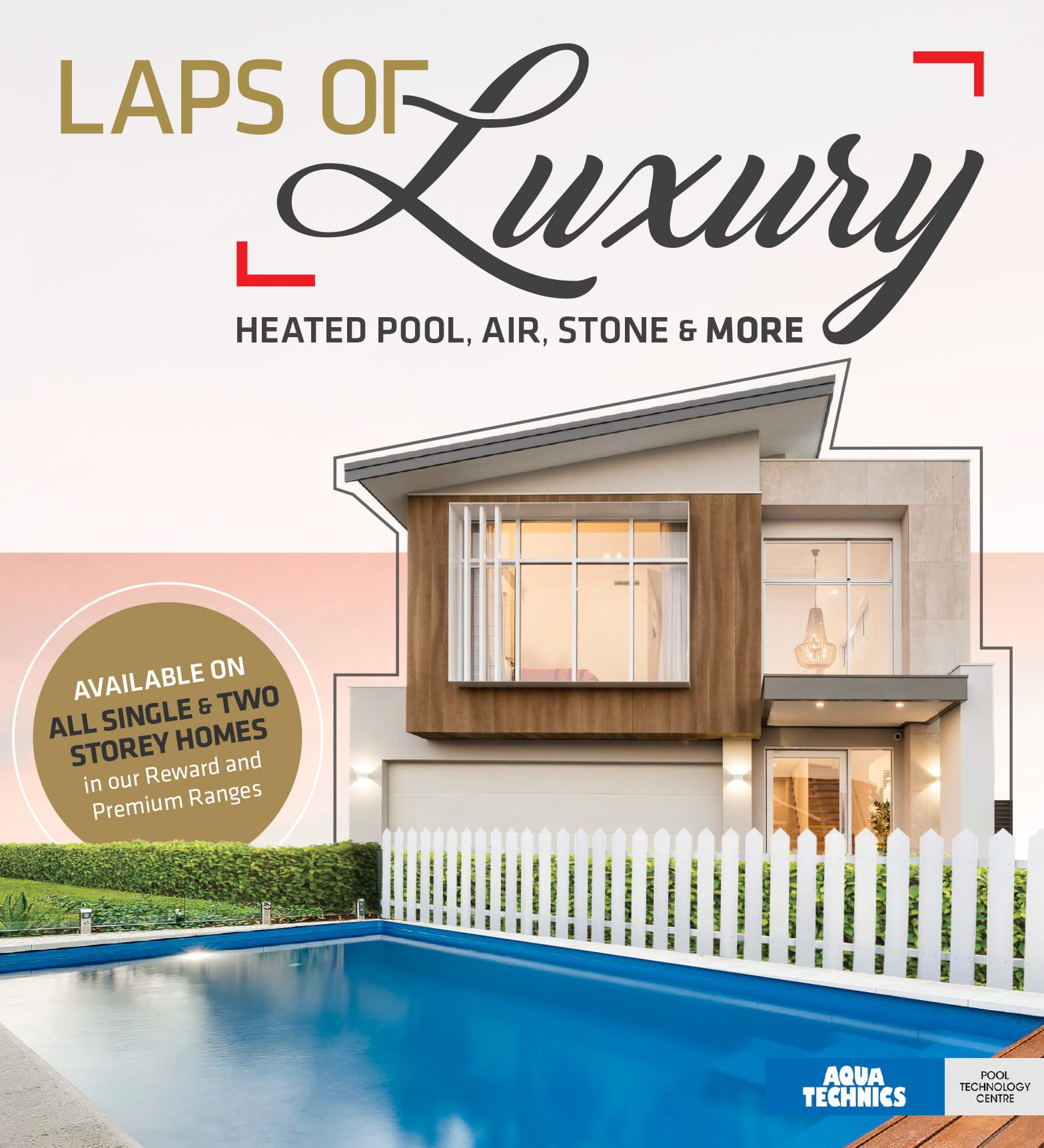 101 Residential Laps of Luxury promotion banner