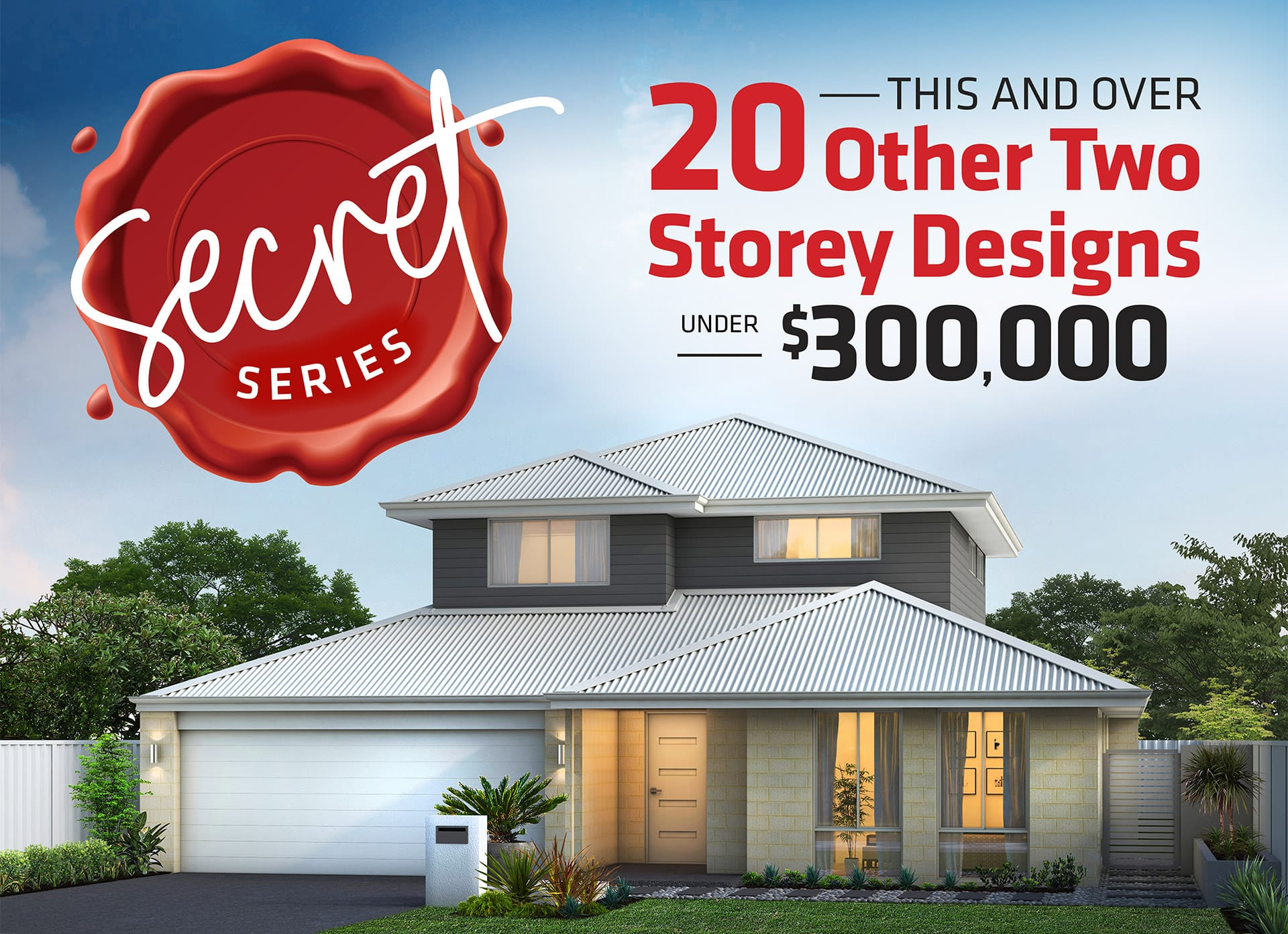 101 Residential Secret Series promotion banner