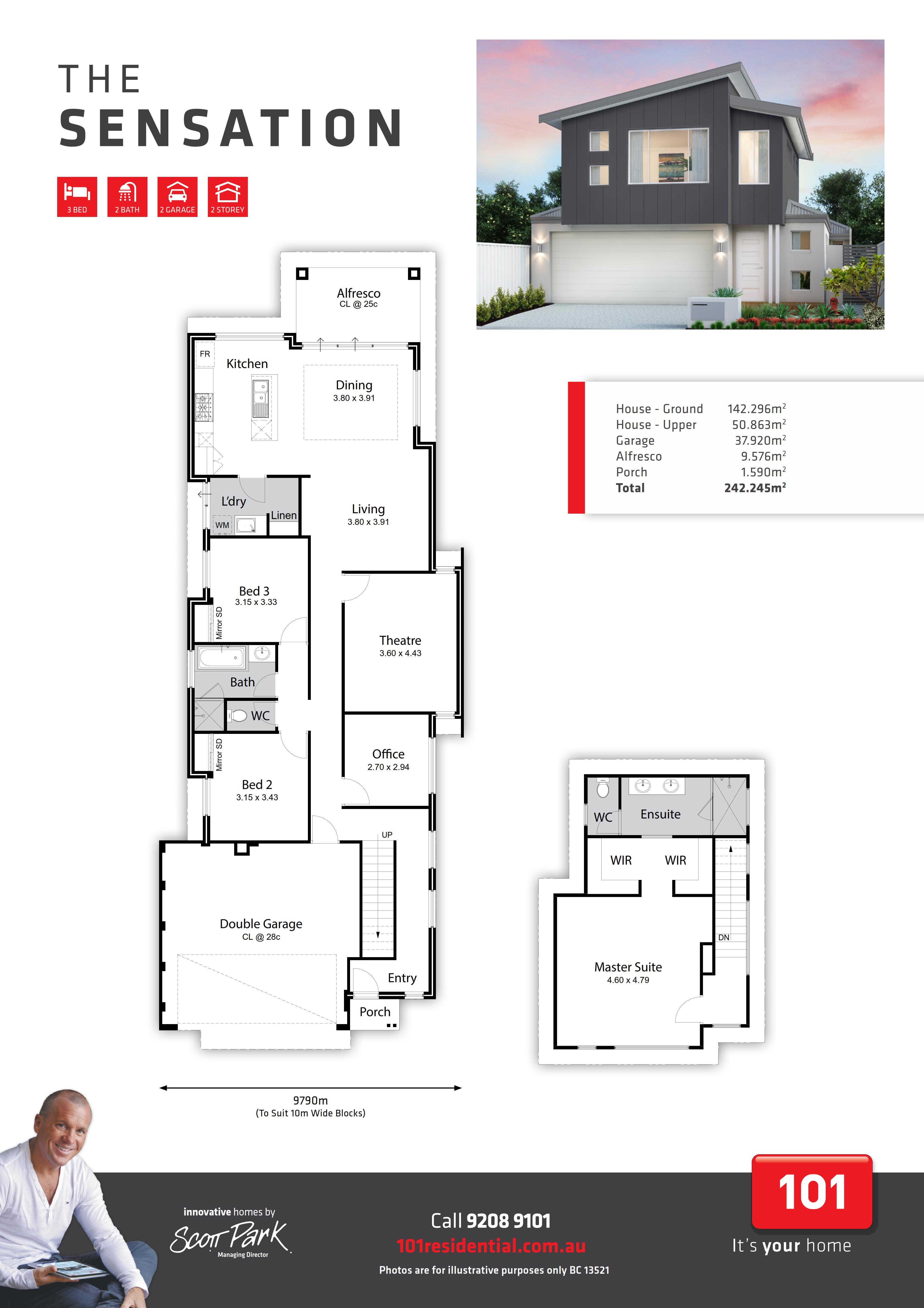 101 A3 Floor Plan - Sensation WEB_001