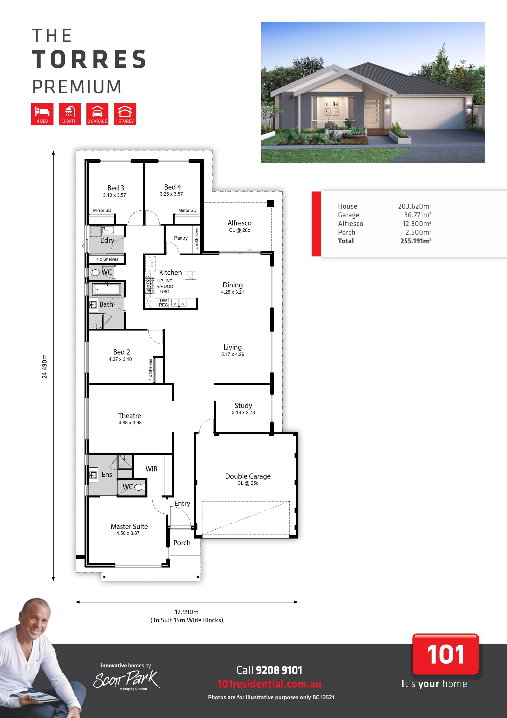 101 A3 Floor Plan - Torres WEB_001