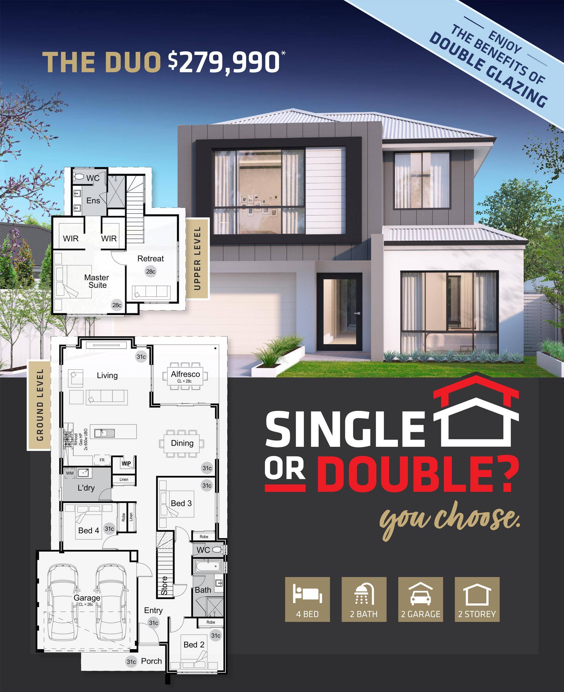 101 Residential The Duo promotion banner