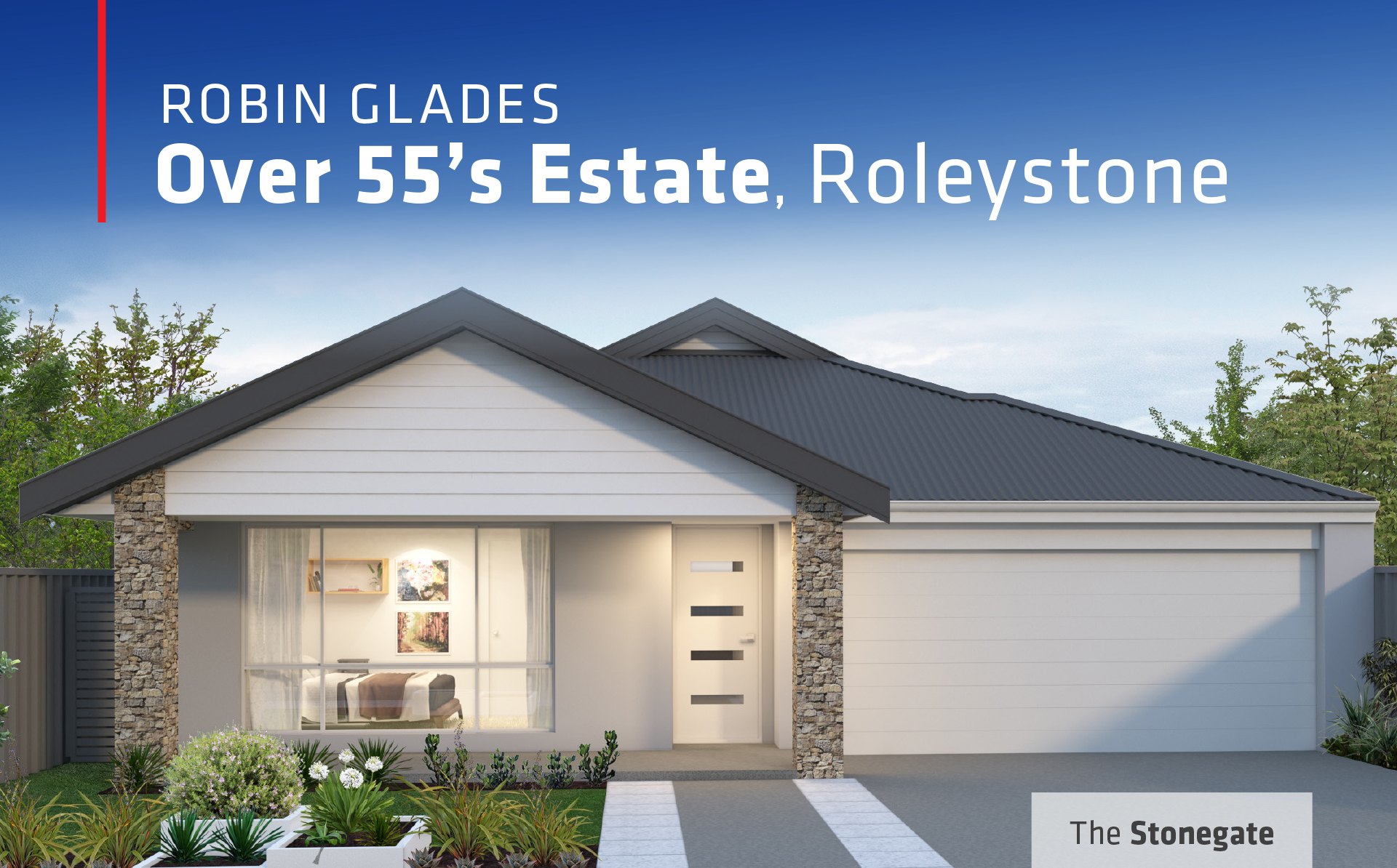 101 Residential Robin Glades Roleystone promotion banner
