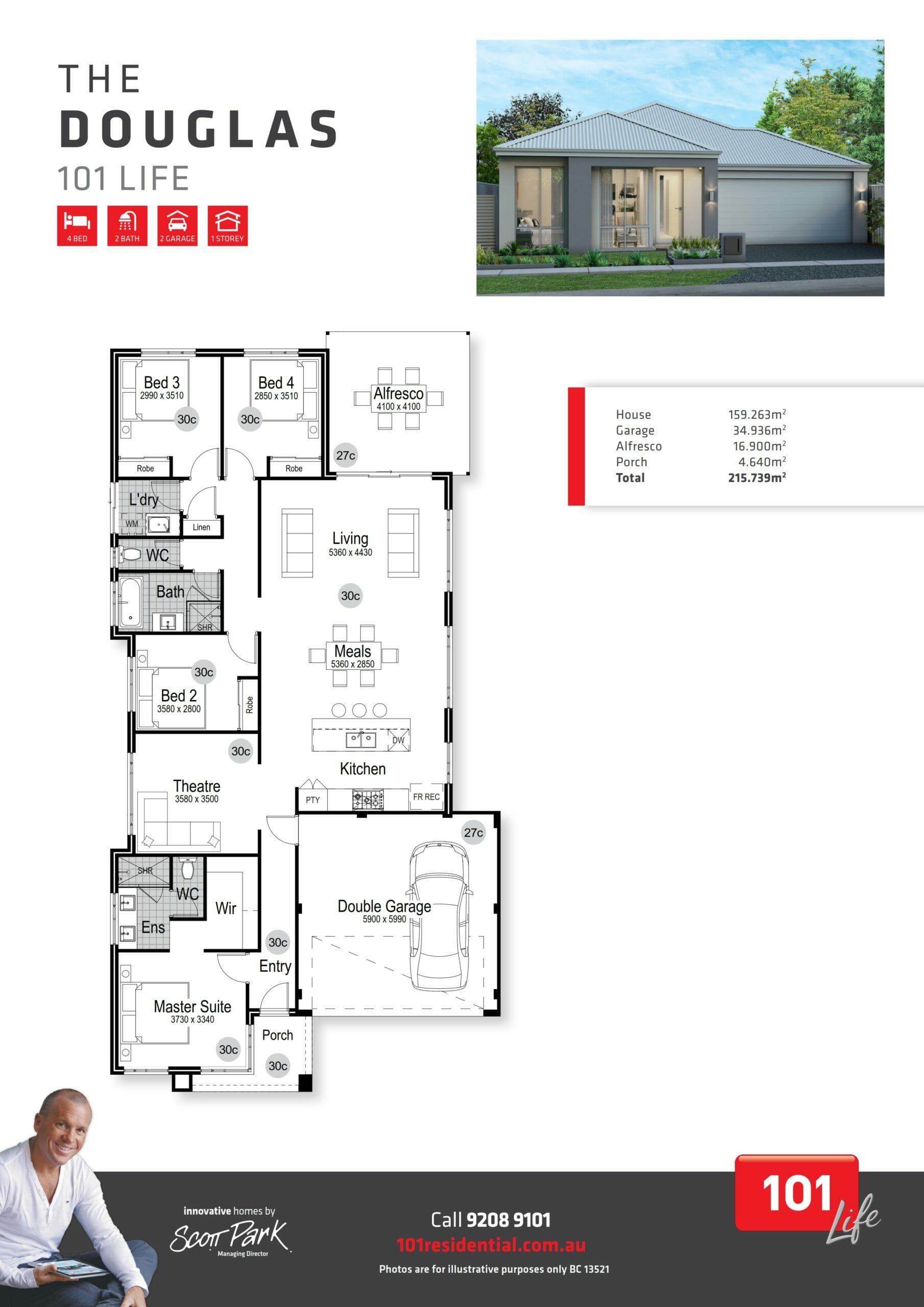 101 A3 Floor Plan - Douglas WEB_001