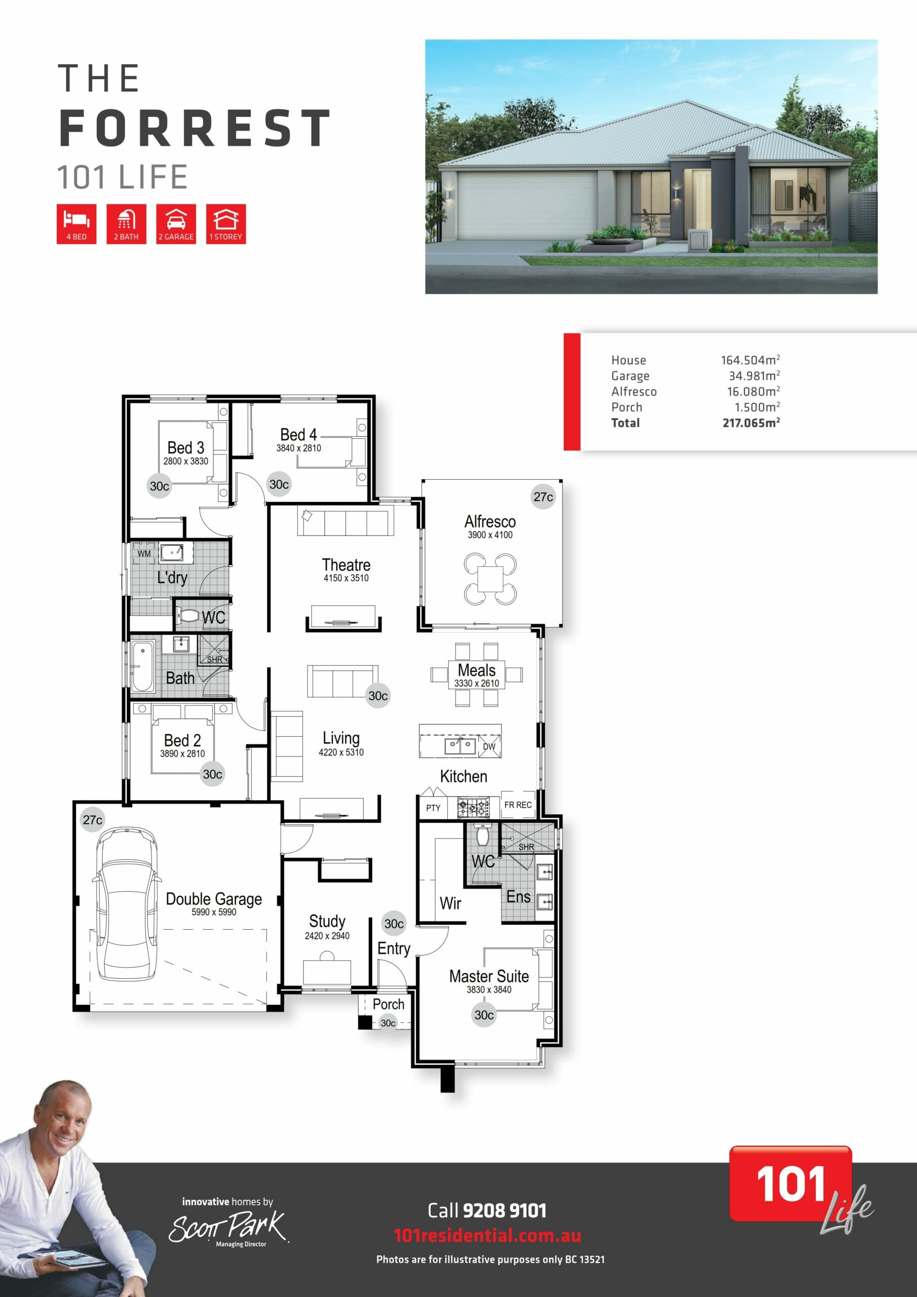 101 A3 Floor Plan - Forrest WEB_001