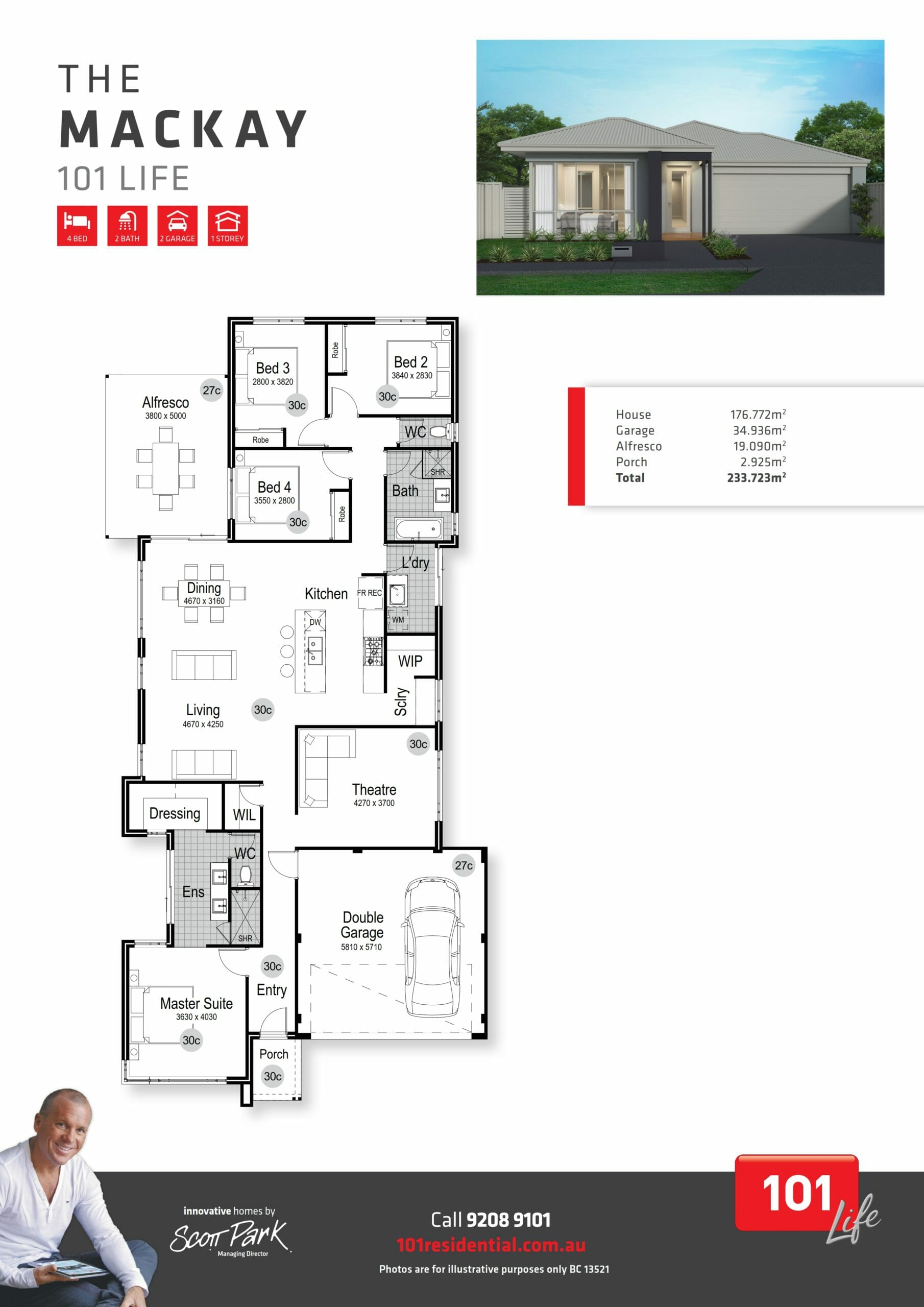 101 A3 Floor Plan - Mackay WEB_001