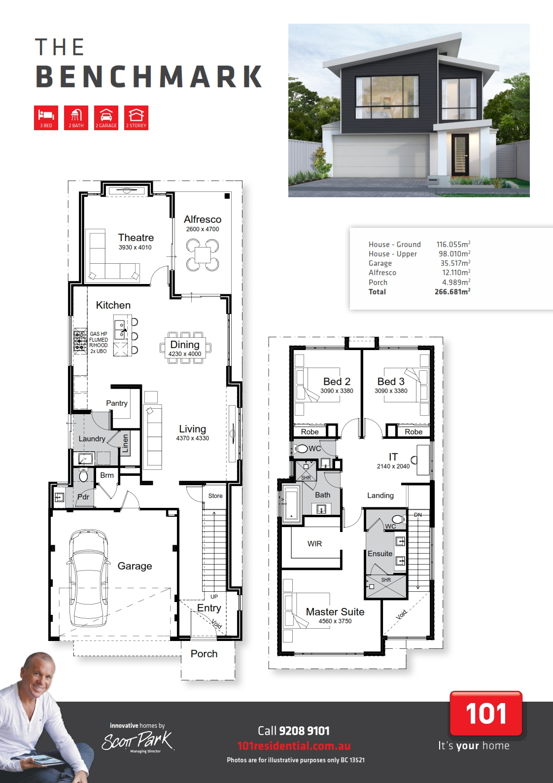 101 A3 Floor Plan - Benchmark WEB_001