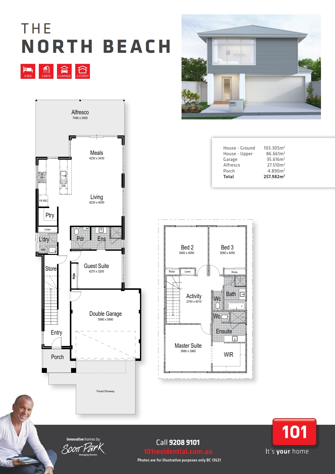 101 A3 Floor Plan - Northbeach WEB_001