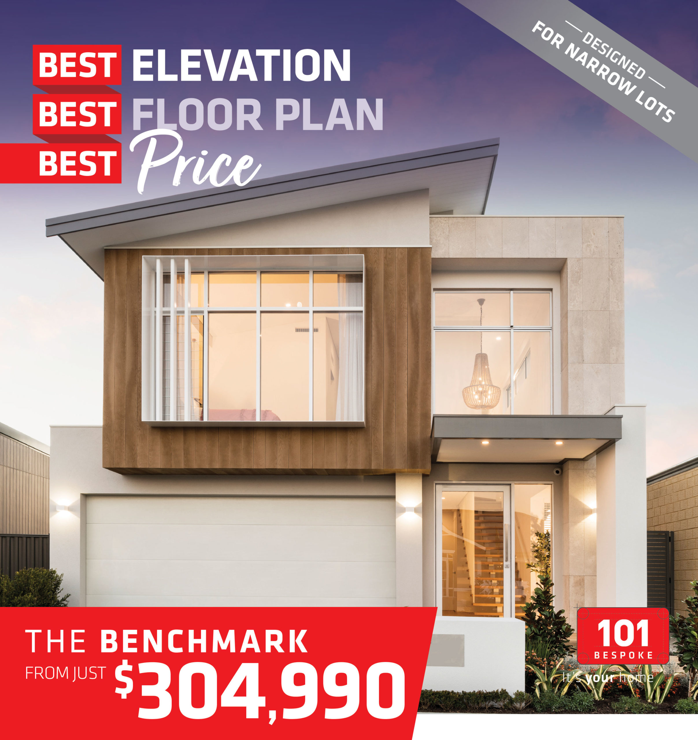 101 Residential Best Best Best promotion banner