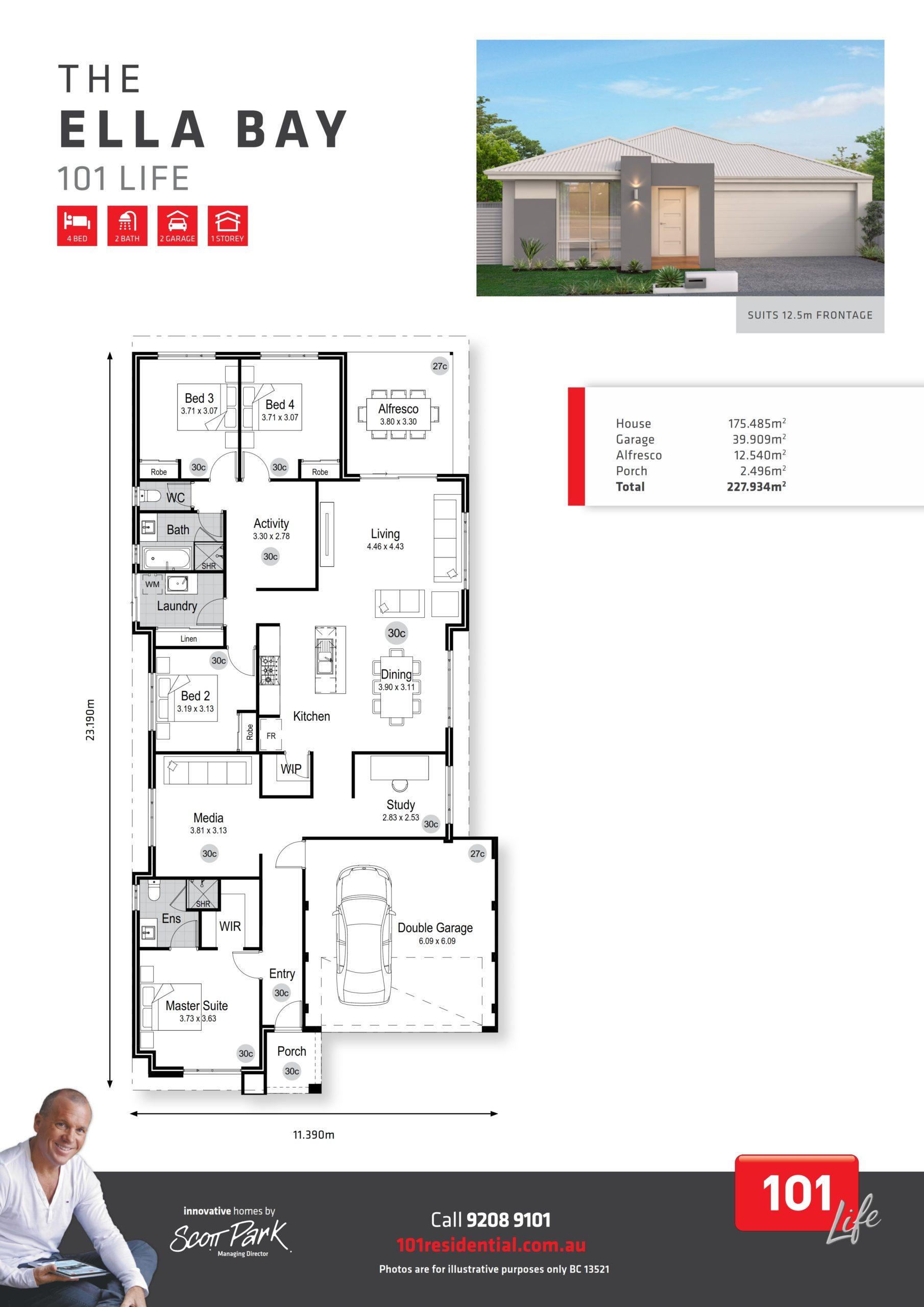 101 Life A3 Floor Plan - Ella Bay WEB_001