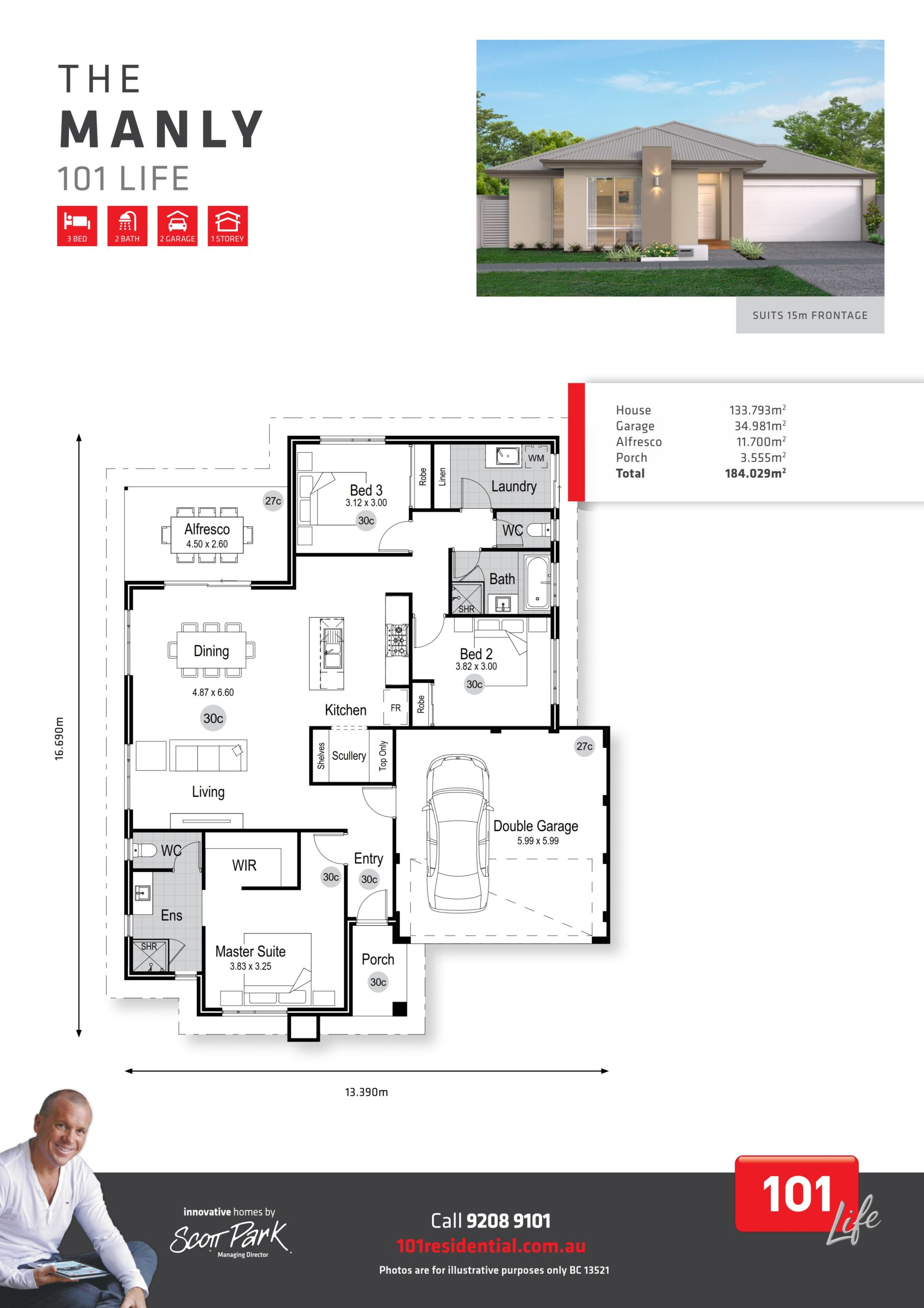 101 Life A3 Floor Plan - Manly WEB_001