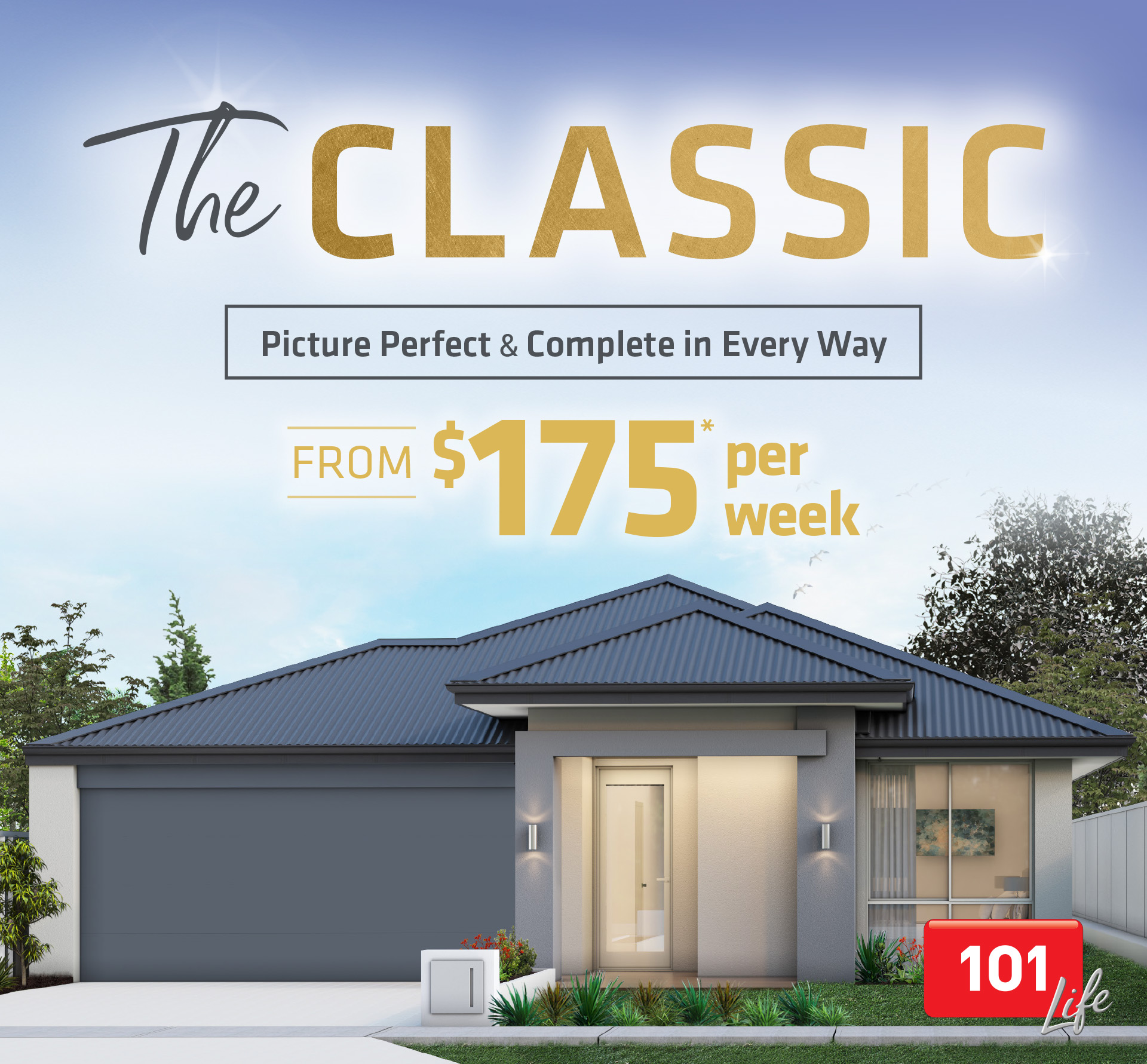 101 Residential The Classic promotion banner